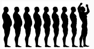 postopna izguba kilogramov