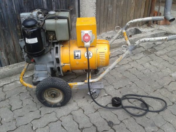elektro agregat